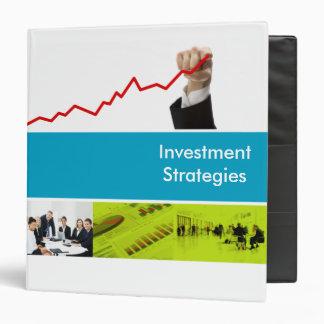 Carpeta de las estrategias de inversión