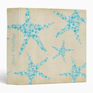 Carpeta de las estrellas de mar de la aguamarina