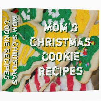 Carpeta de las galletas de las recetas de la