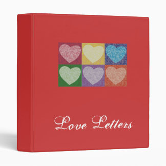 Carpeta de las letras de amor