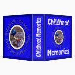 Carpeta de las memorias de la niñez