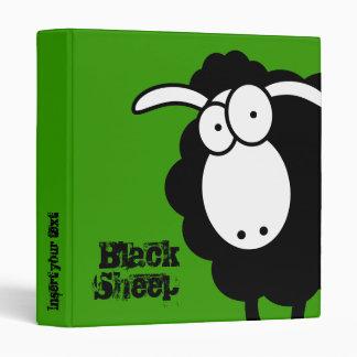 Carpeta de las ovejas negras carpeta 2,5 cm