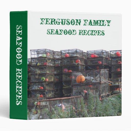 Carpeta de las recetas de la familia de los marisc