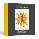 Carpeta de las recetas de las abuelas
