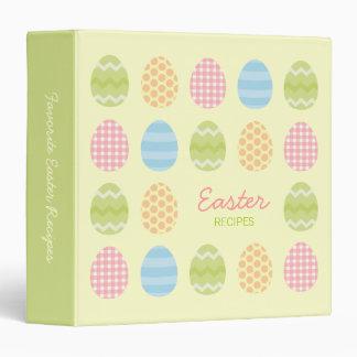 Carpeta de las recetas de Pascua
