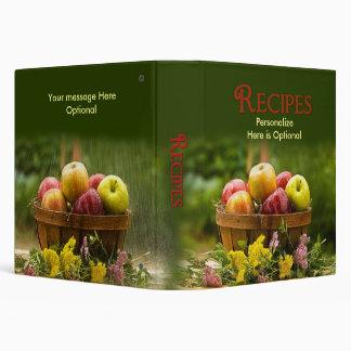Carpeta de las recetas - manzanas