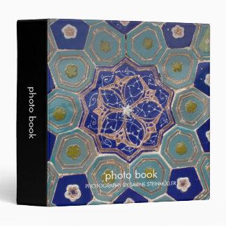Carpeta de las tejas de Maiolica del azul y de la