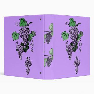 Carpeta de las vides de uva