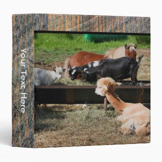 Carpeta de los amigos del animal del campo