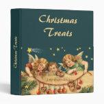 Carpeta de los ángeles de las Felices Navidad del