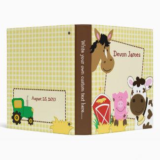Carpeta de los bebés caballo del cerdo y de la va
