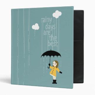 Carpeta de los días lluviosos