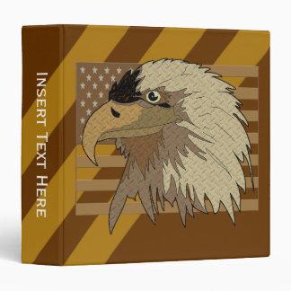 Carpeta de los E.E.U.U. Eagle calvo Avery