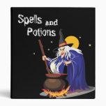Carpeta de los encantos de las brujas