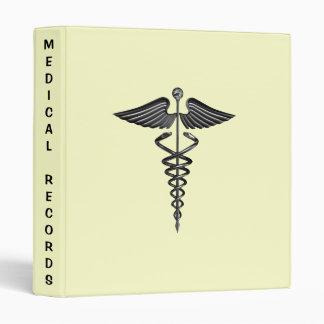 Carpeta de los informes médicos