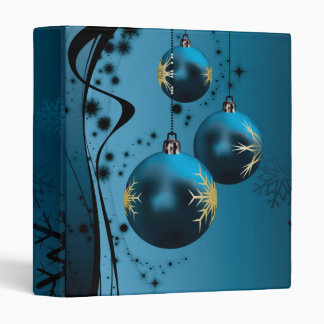 Carpeta de los ornamentos del navidad
