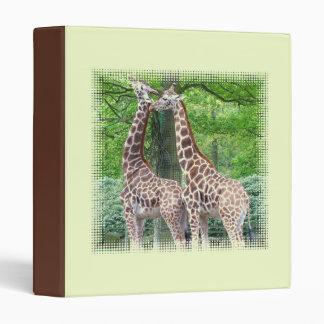 Carpeta de los pares de la jirafa