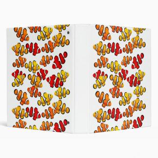 Carpeta de los pescados de Anenome del payaso del