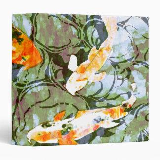 Carpeta de los pescados de Koi