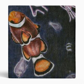 Carpeta de los pescados del payaso