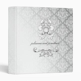 carpeta de lujo del diamante 311-Silver