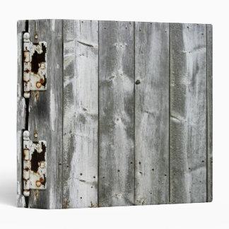 Carpeta de madera de la impresión de las bisagras