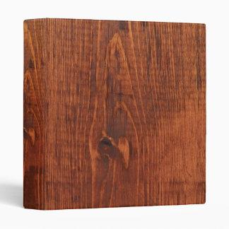 Carpeta de madera de la mirada del grano