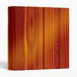 Carpeta de madera de la teca