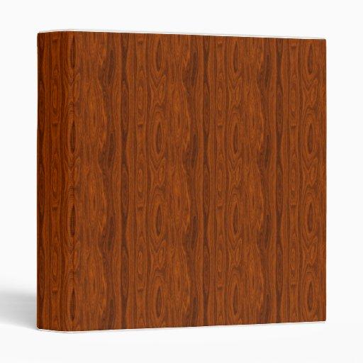 Carpeta de madera del grano