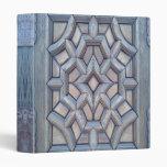 Carpeta de madera del trabajo de Viking