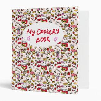"""Carpeta de """"mi libro de cocina"""""""