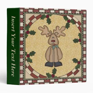 Carpeta de Navidad Avery del reno