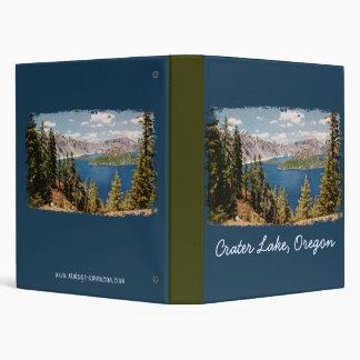 Carpeta de Oregon del lago crater