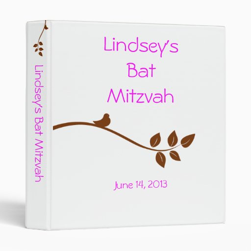 Carpeta de organización de Mitzvah del palo
