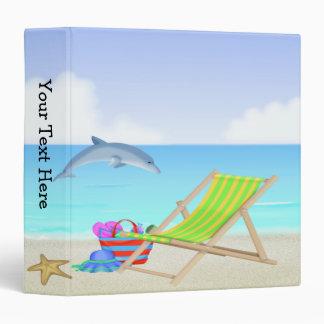 Carpeta de relajación de la playa 3-Ring