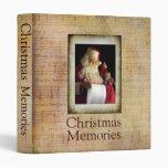Carpeta de Santa de las memorias del navidad