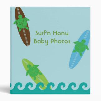 Carpeta de Surf N Honu - tortugas de mar y tablas