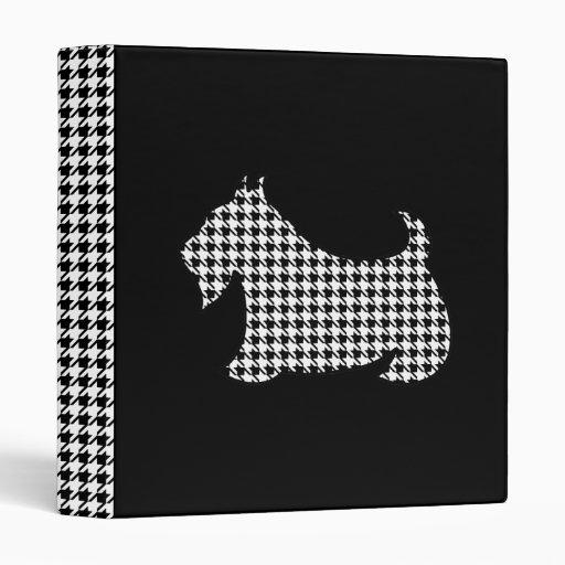 Carpeta de Terrier Houndstooth del escocés