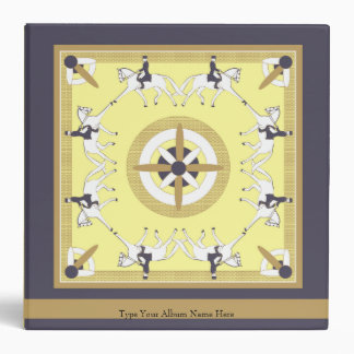 Carpeta decorativa de Deco del Dressage