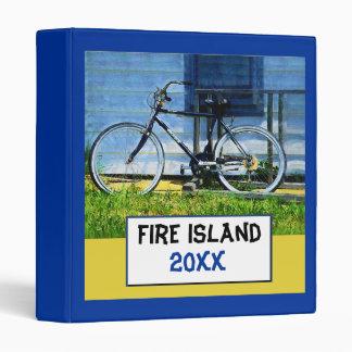 Carpeta del álbum de la isla del fuego