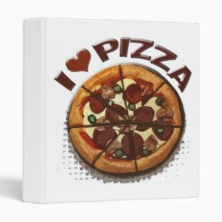 Carpeta del amor de la pizza