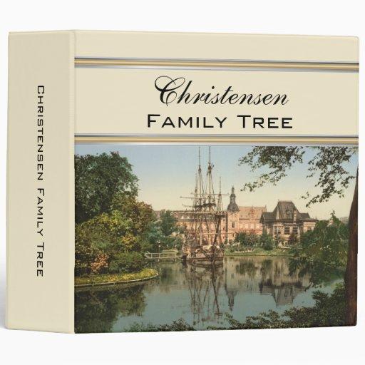 Carpeta del árbol de familia de Copenhague