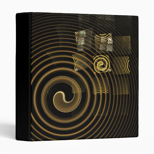 Carpeta del arte abstracto de la hipnosis