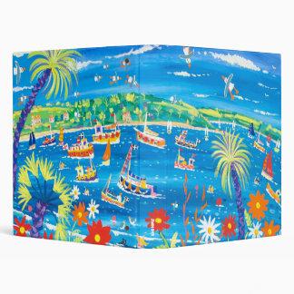 Carpeta del arte Barcos en el río