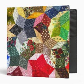 Carpeta del arte de la costurera del edredón loco