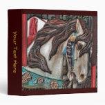Carpeta del arte del caballo del carrusel