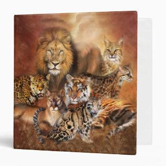 Carpeta del arte del gato grande