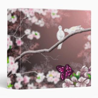 Carpeta del asilo de la flor de cerezo