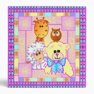 Carpeta del bebé de los animales