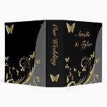 Carpeta del boda de la mariposa - organizador